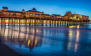 Old Orchard Beach Photos - Dawn at Old Orchard Beach by Stephen Beckwith