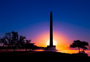La Porte Framed Prints - Dawn at San Jacinto Monument Framed Print by Paul Wolf
