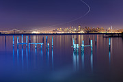 Sausalito Prints - Dawn Colors - Sausalito Print by David Yu