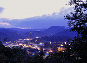 Gatlinburg Framed Prints - Dawn of Gatlinburg Framed Print by Nian Chen