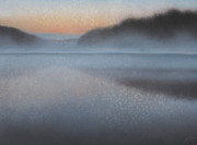 Ozarks Pastels - Dawn Parts the Mist by Robin Street-Morris
