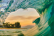 Wave Art Prints - Dawn Patrol Print by Gregg  Daniels
