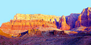 Cliff Lee Metal Prints - Dawn - Vermillion Cliff And Cathedral Canyon Metal Print by Douglas Taylor