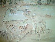 Debbi Chan - Dawns  dogs