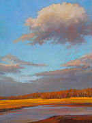 Cape Cod Pastels Originals - Day Dream by Ed Chesnovitch
