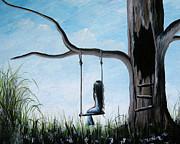 Day Dreaming By Shawna Erback Print by Shawna Erback