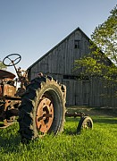 Barn Photo Metal Prints - Day Is Done Metal Print by Edward Fielding