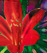 Yvonne Gaudet - Day Lily Red
