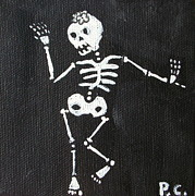 Peggy Carroll - day of the Dead Dancer
