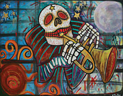 Paranormal  Mixed Media - Day Of The Dead by Laura Barbosa