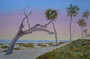 Camper Paintings - Daybreak at Edisto by Joel Deutsch