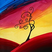 Tree Art - Daybreak by Cindy Thornton