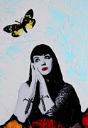 Fetish Posters - Daydreaming - Mixed Media Art By Sharon Cummings Poster by Sharon Cummings
