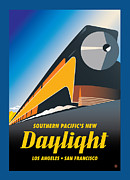 Vector Prints - Daylight Express Print by Gary Grayson