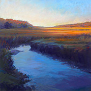 Massachusetts Pastels - Daylights End by Ed Chesnovitch