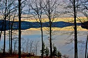 Otsego Lake Posters - Days End Poster by Bill Miller