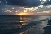Christiane Schulze Framed Prints - Days End Over Sanibel Island Framed Print by Christiane Schulze