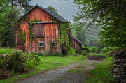Old Barns Metal Prints - Days Gone By Metal Print by Bill  Wakeley