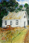 Tin Roof Paintings - Days Gone By by John Burch