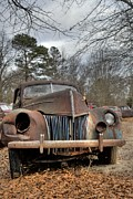 Rusted Cars Framed Prints - Days Gone By Framed Print by Willie Harper