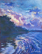 Alice Grimsley Metal Prints - Days Last Light Metal Print by Alice Grimsley