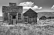 Old Cabins Prints - Days of Glory Gone Print by Sandra Bronstein