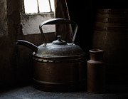 Teapot Metal Prints - Days of Old Metal Print by Amy Weiss