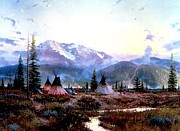Kinkade Prints - Days of Peace Print by Thomas Kinkade