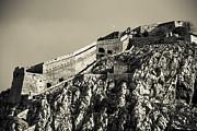 Daytime Palamidi Fortress  Print by David Waldo