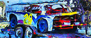 Racecar Number Prints - Daytona Bound Number 29 Print by Barbara Snyder