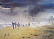 Inclement Paintings - Daytona Storm by Kris Parins