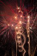 Dazzling Fireworks Print by Garry Gay