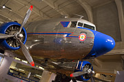 United Airlines Passenger Plane Photos - Dc-3 by Jim West