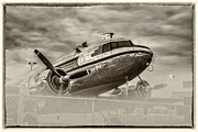 Dc3 Prints - DC3 Aircraft Print by Cindy McDonald