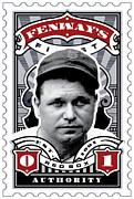 Dcla Jimmie Fox Fenway's Finest Stamp Art Print by DCLA Los Angeles
