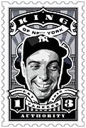 Dcla Joe Dimaggio Kings Of New York Stamp Artwork Print by DCLA Los Angeles