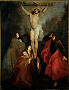 Bible Character Prints - De Ferrari Orazio, The Calvary, 17th Print by Everett