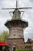 Wooden Structure Photos - De Gooyer Windmill in Amsterdam by Artur Bogacki