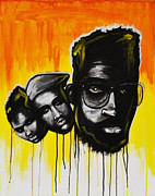 Soul Paintings - De La Soul by Charles Styles