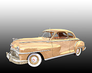 Business Drawings - De Soto Club Coupe by Jack Pumphrey