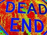 Dead End Print by Ed Weidman