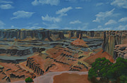 Pinion Paintings - Dead Horse Point by Nick Froyd
