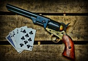 Old West Photos - Dead Mans Hand by Paul Ward