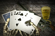Wild Bill Hickok Photos - Dead Mans Hand by Randall Nyhof