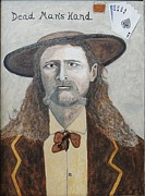 Ken Zabel Metal Prints - Dead mans hand.James Butler Hickok. Metal Print by Ken Zabel