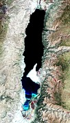 Science Photo Library - Dead Sea, 1972 satellite...