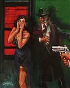 Magazine Art Paintings - Deadly Surprise by Tom Shropshire