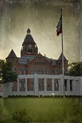 Conspiracy Posters - Dealey Plaza Poster by Joan Carroll