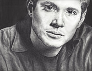 Supernatural Drawings - Dean Winchester by Kristy Fleming