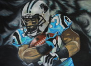 Deangelo Williams Print by Ryan Doray